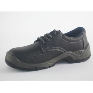 Zapato piel negro cordones